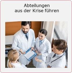 Abteilungen-Krise-Krankenhaus-Mueller und Mooseder Unternehmensberatung